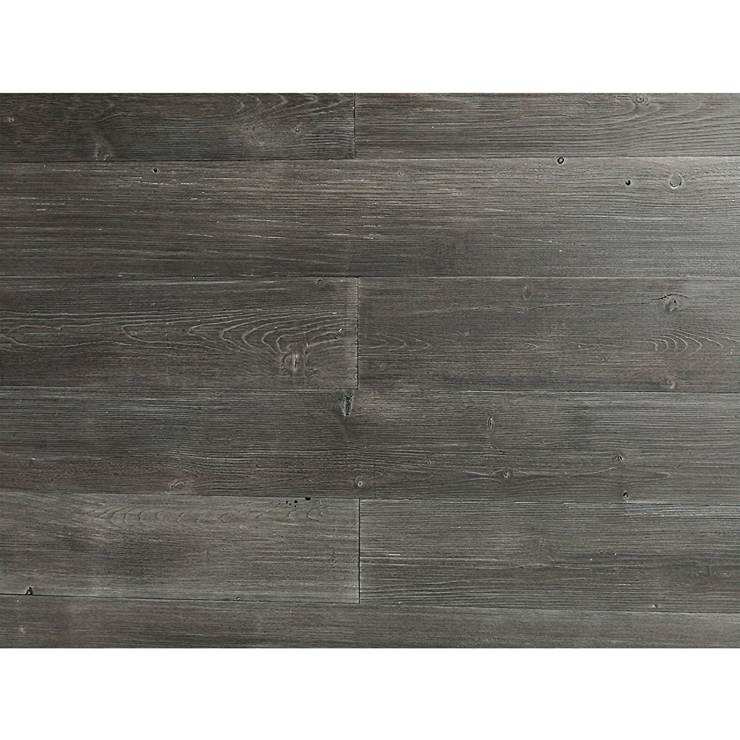 Art3d Reclaimed Wood Wall Panels Easy Peel and Stick Wood Plank, Grey (16 Sq Ft)