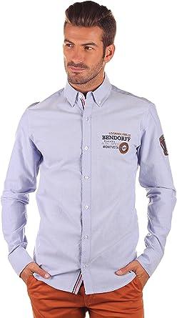 Bendorff Camisa Hombre Azul XL: Amazon.es: Ropa y accesorios