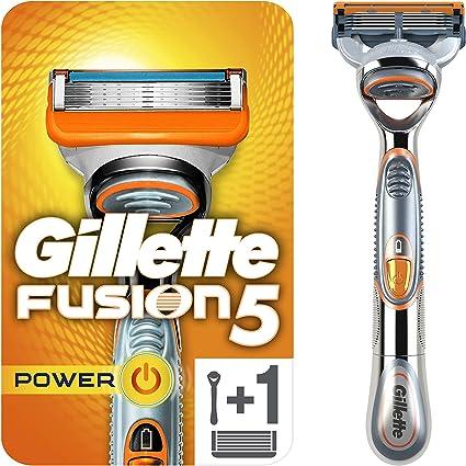 Gillette Fusion Power Maquina Más Cargador - Máquina de afeitar, 200 gr: Amazon.es: Belleza