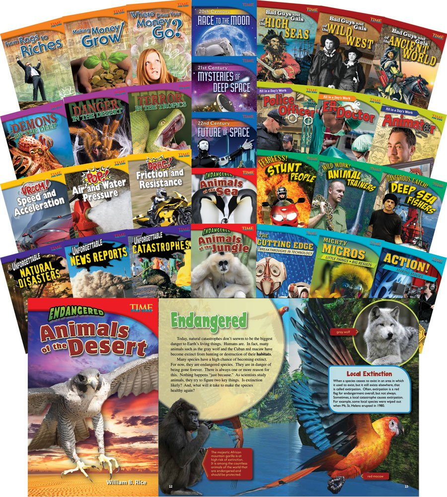 TIME FOR KIDS® Informational Text Grade 5 Readers 30-Book Set (TIME FOR KIDS® Nonfiction Readers)