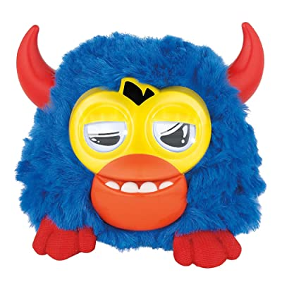 Furby Party Rockers Creature (Dark Blue with Horns): Toys & Games