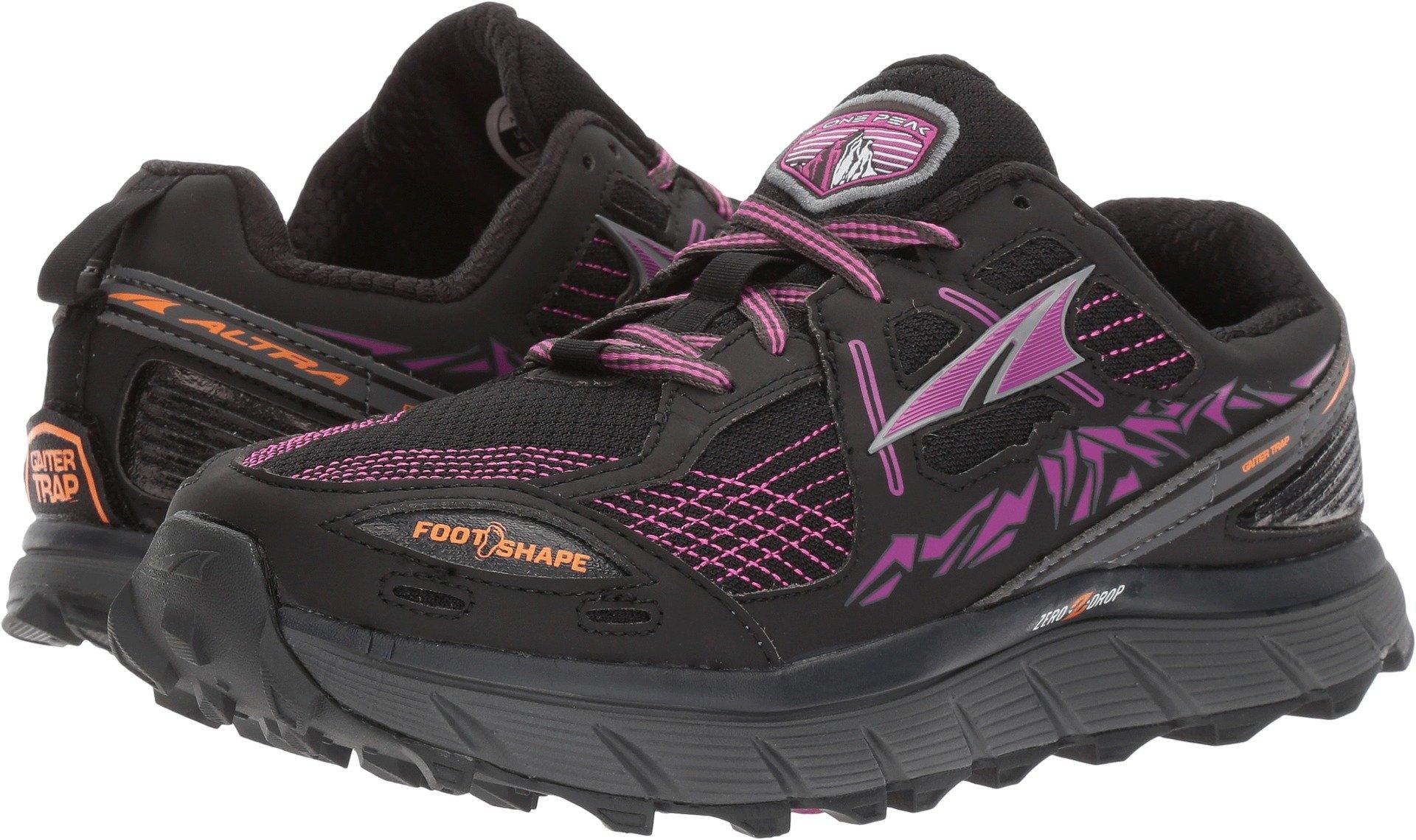 Altra Footwear Women's Lone Peak 3.5 Purple/Orange 12 B US