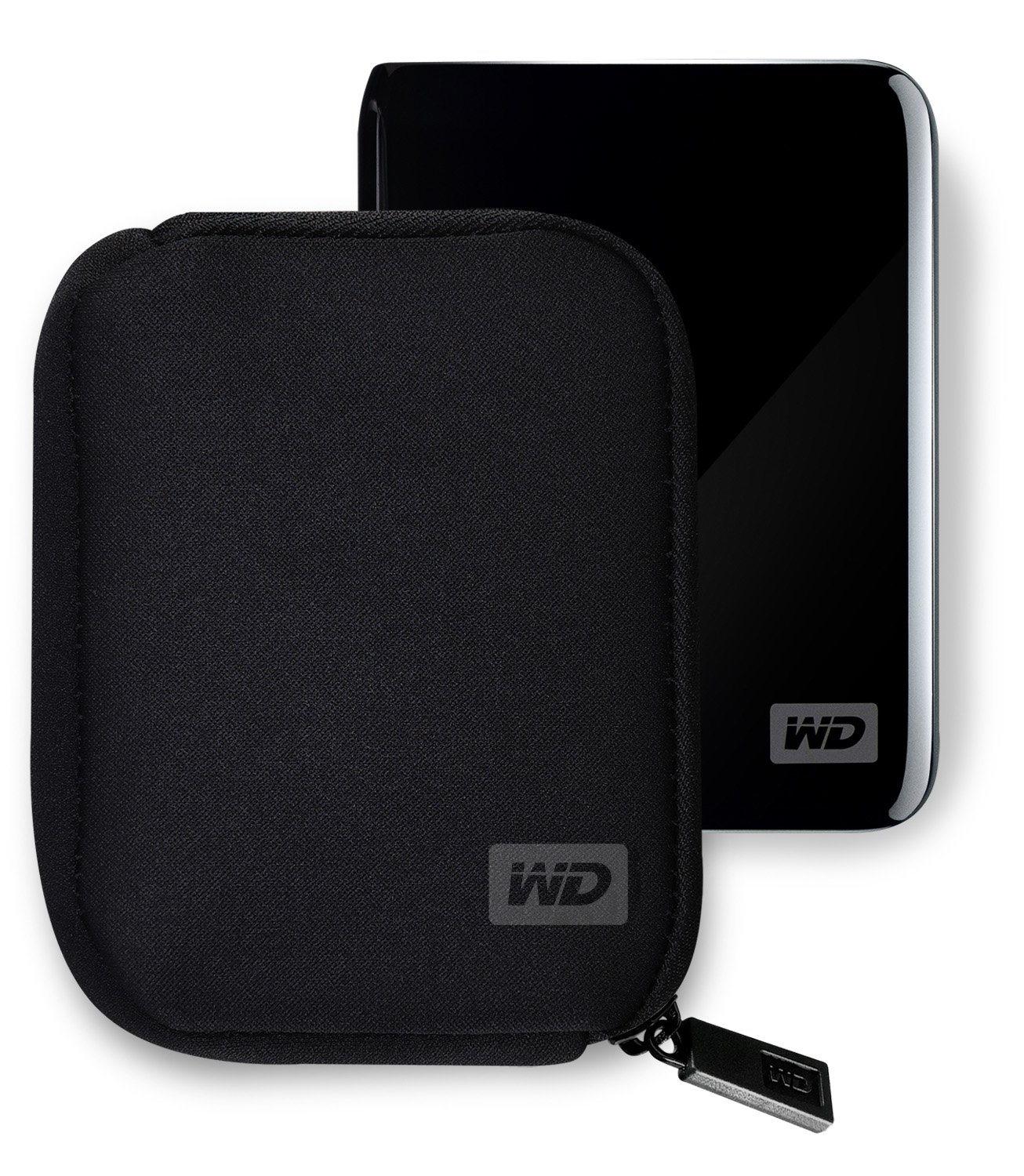 Western Digital My Passport Neoprene Carrying Case For Your Portable Wd Wdbbkd0030 3tb Hard Disk Cartridge Drive Black Computers Accessories