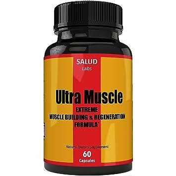 Extra Strength Suplemento Vitaminas para Musculos | Suplementos para Ganar Masa Muscular y Perder Grasa |