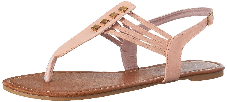 sunville New Starbay Brand Women's T-Strap Gladiator Flats Sandals