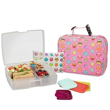 Amazon.com: bentology Bolsa de almuerzo y Box Set Para Las ...