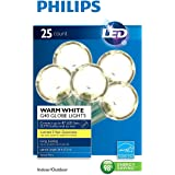 Philips Clear Globe LED String Lights Set of 25 G40 Bulbs Indoor / Outdoor