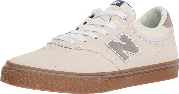 New Balance Numeric 255 Sneakers Skateschuhe Weiß/Gummi (Kautschuk)