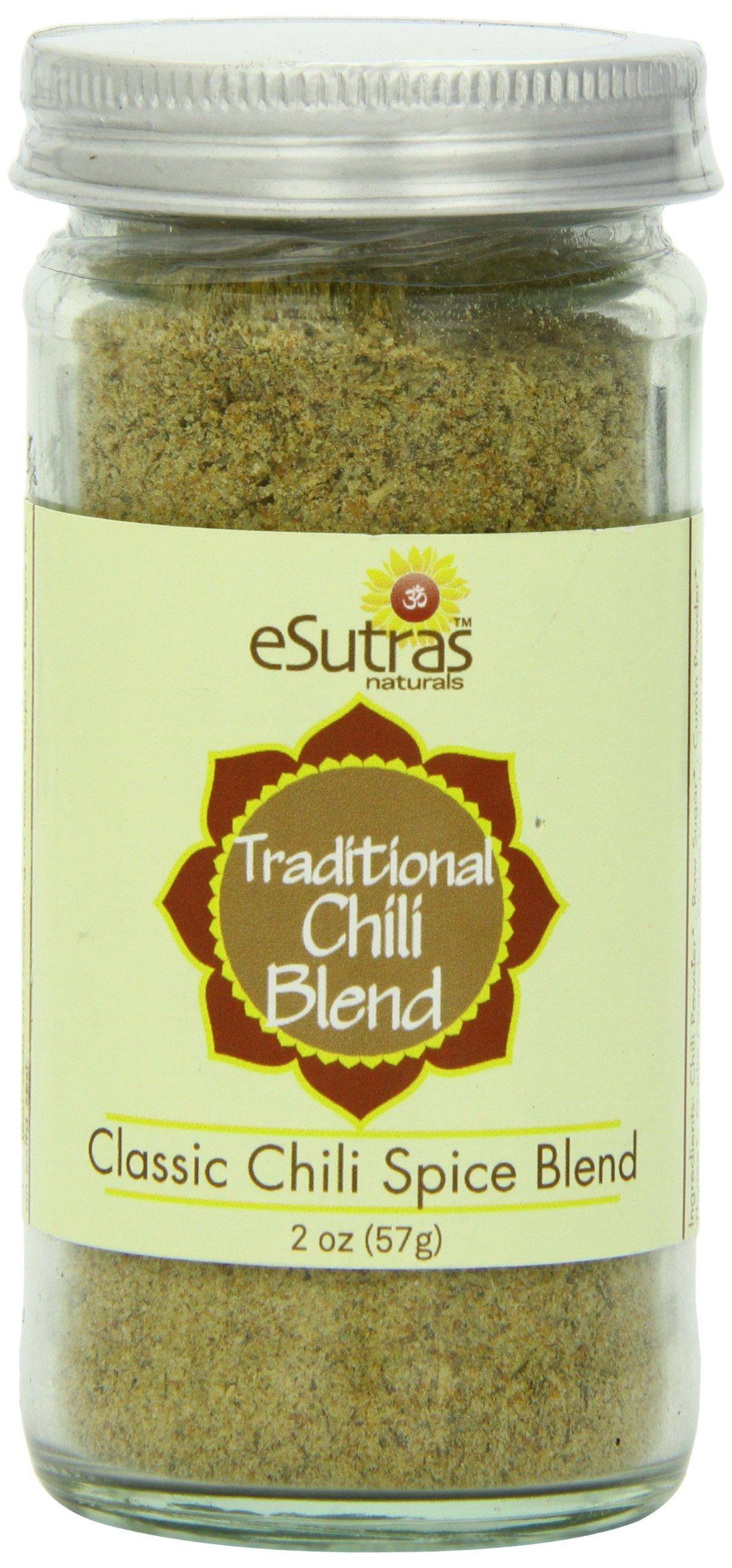 Esutras Organics Traditional Chili Blend, 2 Ounce