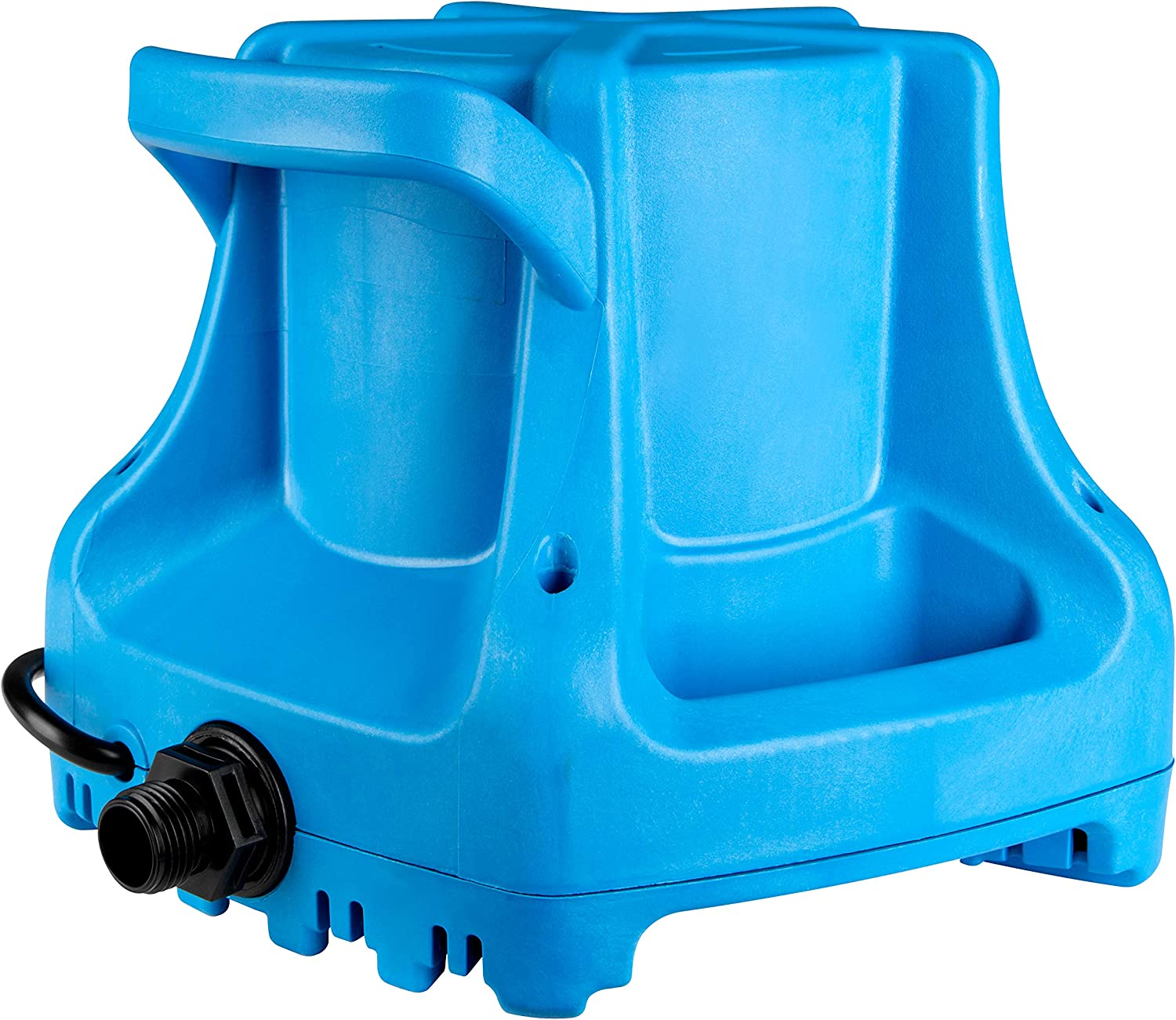 Amazon Com Little Giant 577301 Apcp 1700 Automatic Swimming Pool Cover Submersible Pump 1 3 Hp 115v Blue Swimming Pool Water Pumps Garden Outdoor