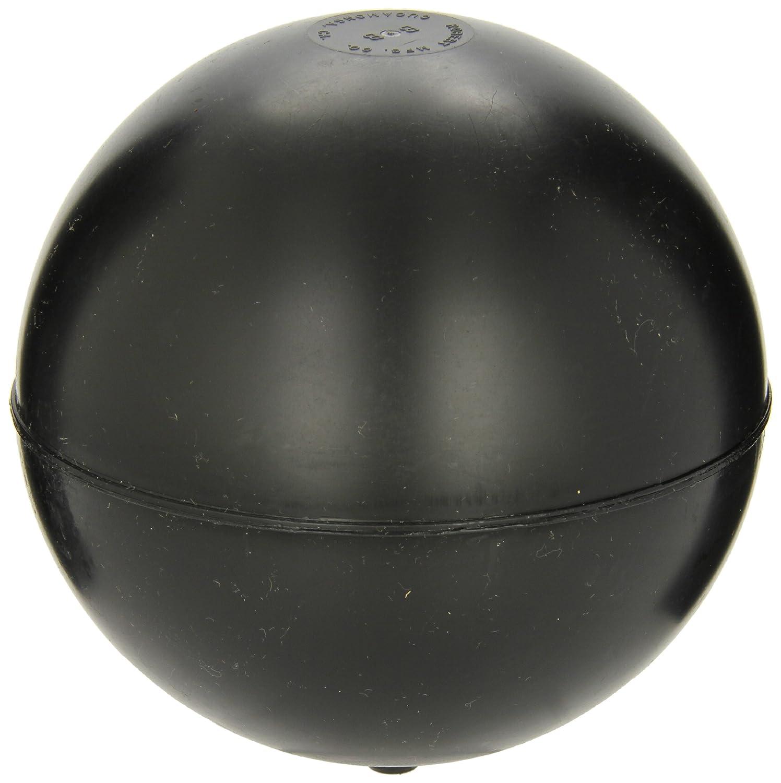 Robert Manufacturing PF Series Bob Spherical Polypropylene Float, 1/4'-20 Female Spud, 6' Diameter, 61 oz Buoyancy 1/4-20 Female Spud 6 Diameter Control Devices 30101