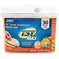 TST Ultra-Concentrated Orange Citrus Scent RV Toilet Treatment Drop-Ins, Formaldehyde Free, Breaks Down Waste and Tissue…