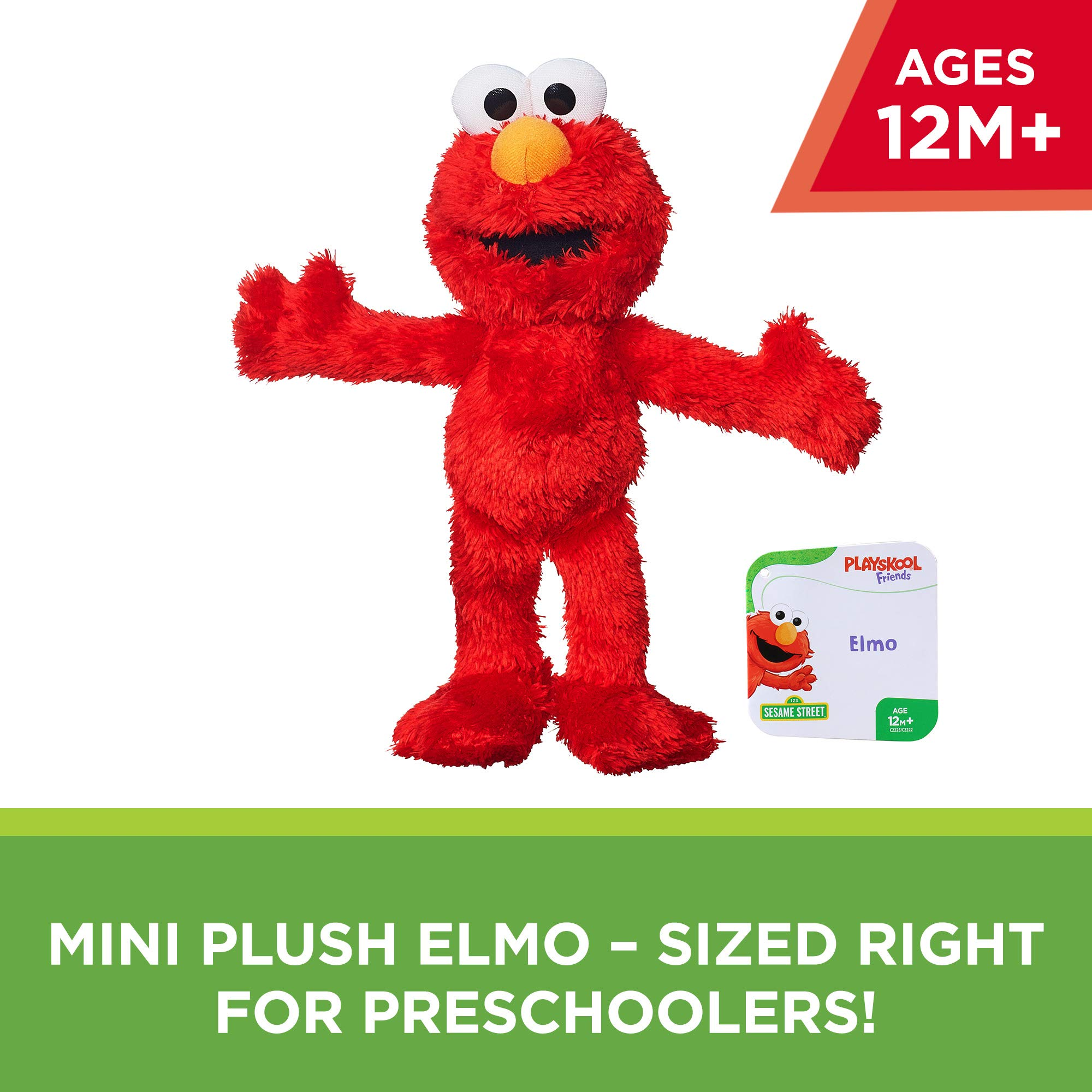 Elmo Toy for Kids 1 Year Old /& Up Sesame Street Lets Cuddle Elmo Plush Doll: 10 Elmo Toy Exclusive Great for Snuggles Soft /& Cuddly