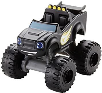 blaze and the monster machines coche de camuflaje color negro