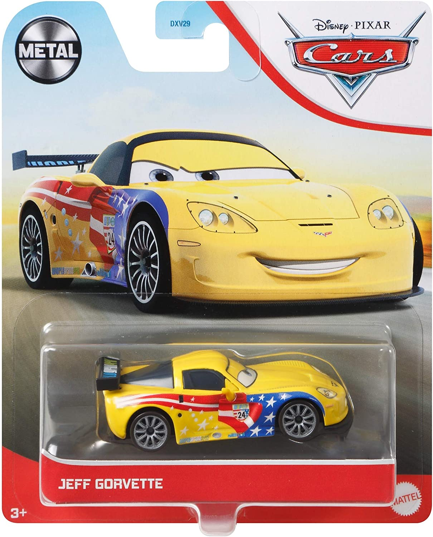 3 Diecast Jeff Gorvette Vehicle Disney Pixar Cars