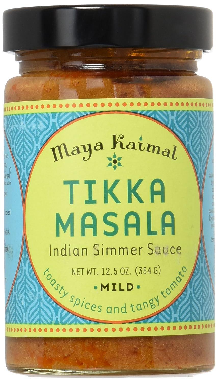 Maya Kaimal Tikka Masala Simmer Sauce, Mild, 12.5 oz (Case of 6)