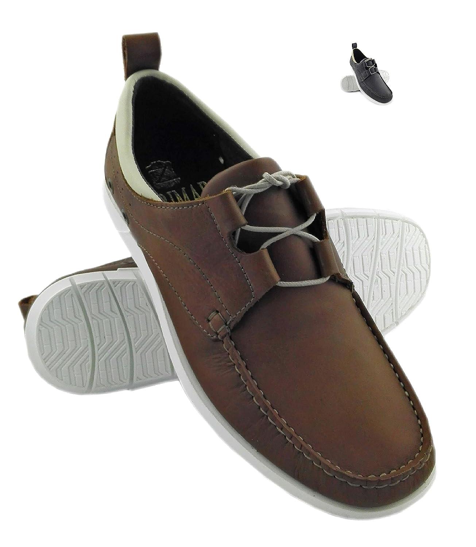 Zerimar Zapato Náutico de Piel Para Hombre Náutico Para Hombre 41 EU|cuero