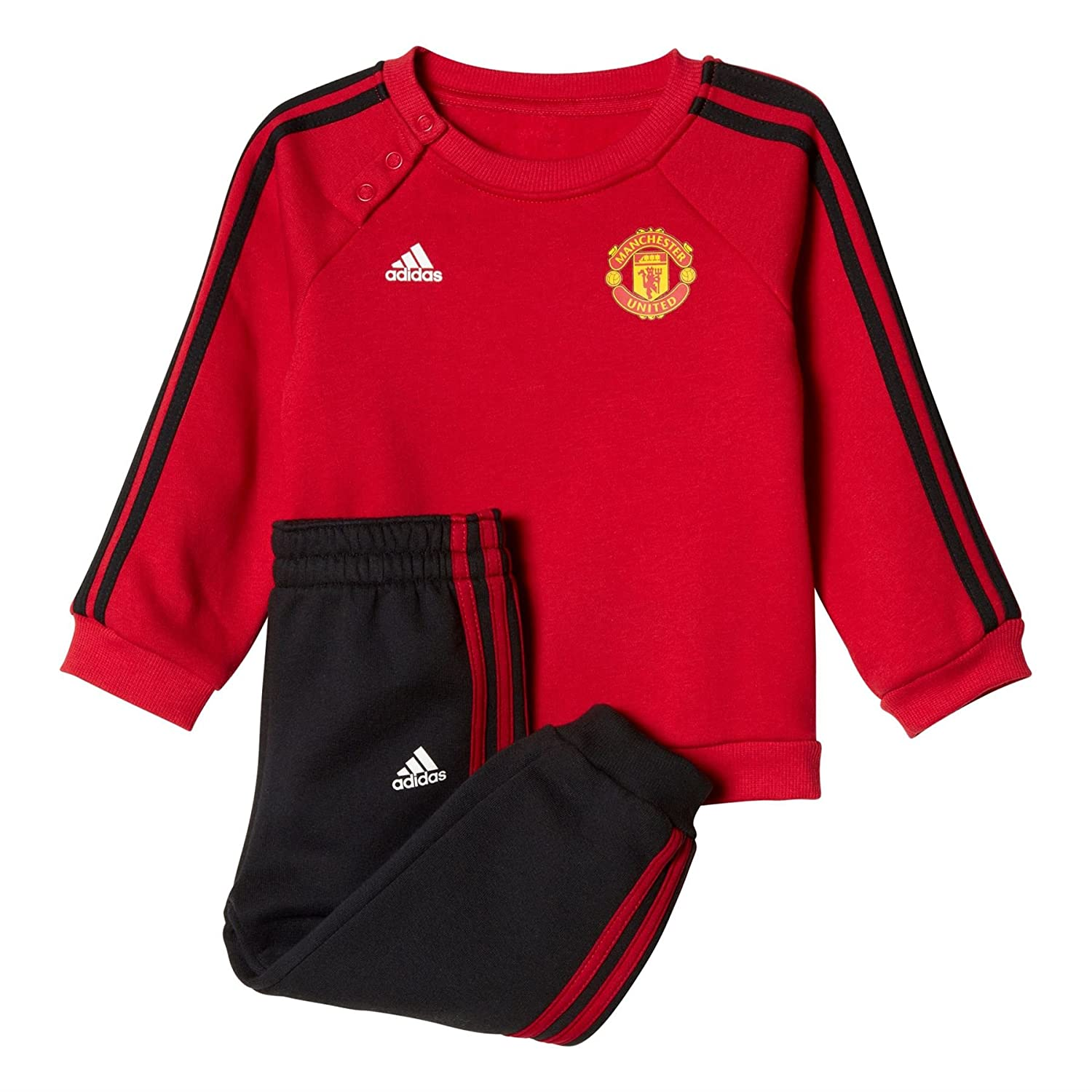 adidas Kinder Manchester United Trainingsanzug BQ2212