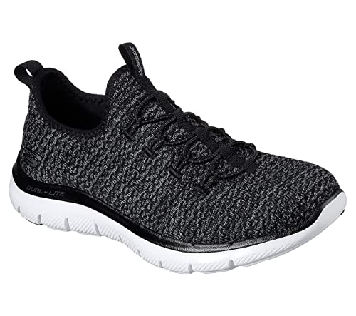 Skechers 12904 BKW - Mocasines para Mujer, Color Negro, Talla 39 EU: Amazon.es: Zapatos y complementos