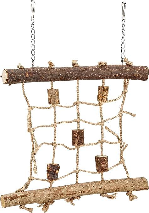 TRIXIE Muro cuerda escalada, 27 x 24 cm, Pájaros