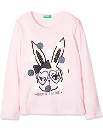 United Colors of Benetton Girl s T-Shirt ... 6b4dab0ee