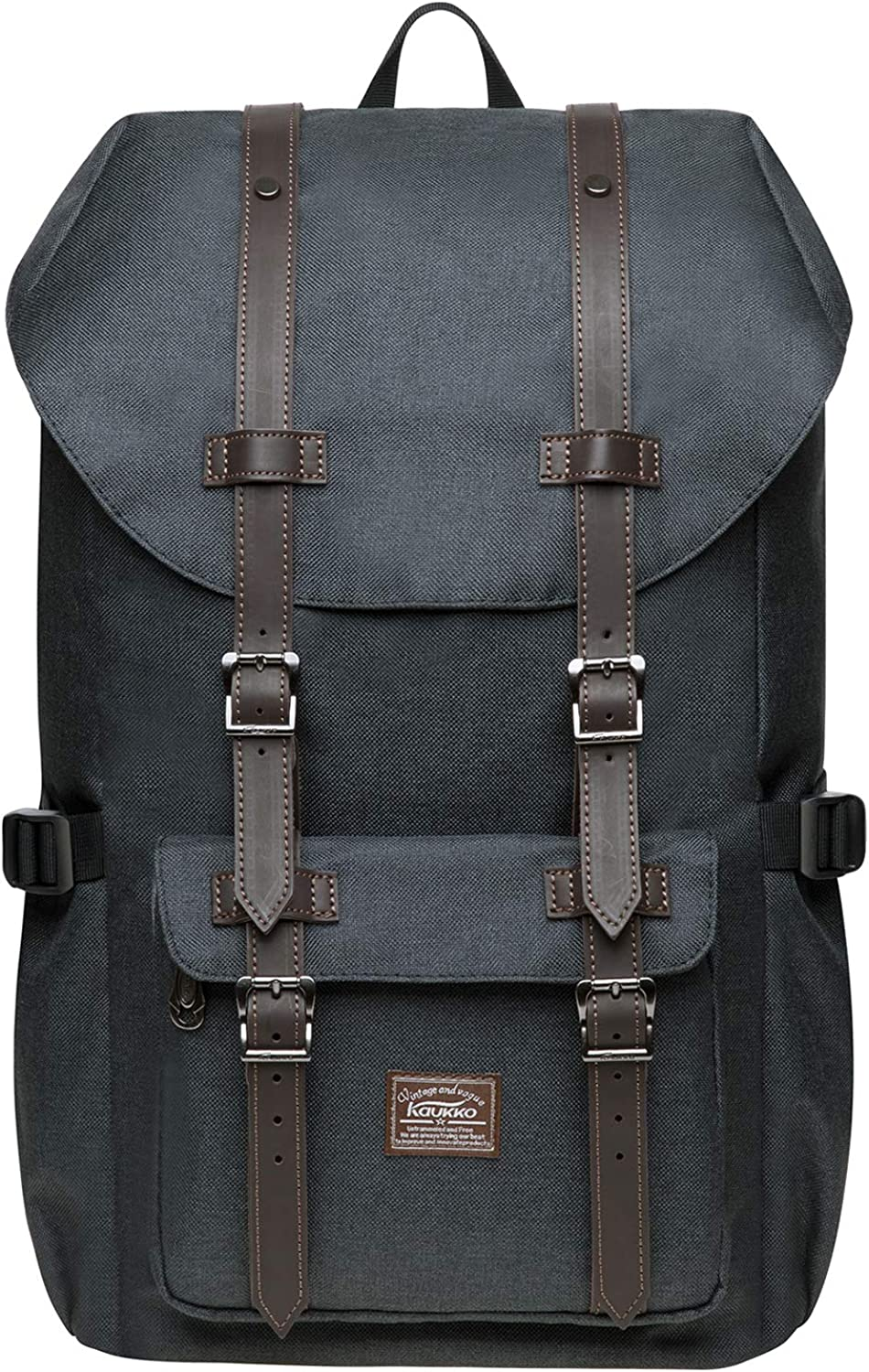 KAUKKO Laptop Outdoor Backpack, Traveling Rucksack Fits 15.6 Inch Laptop