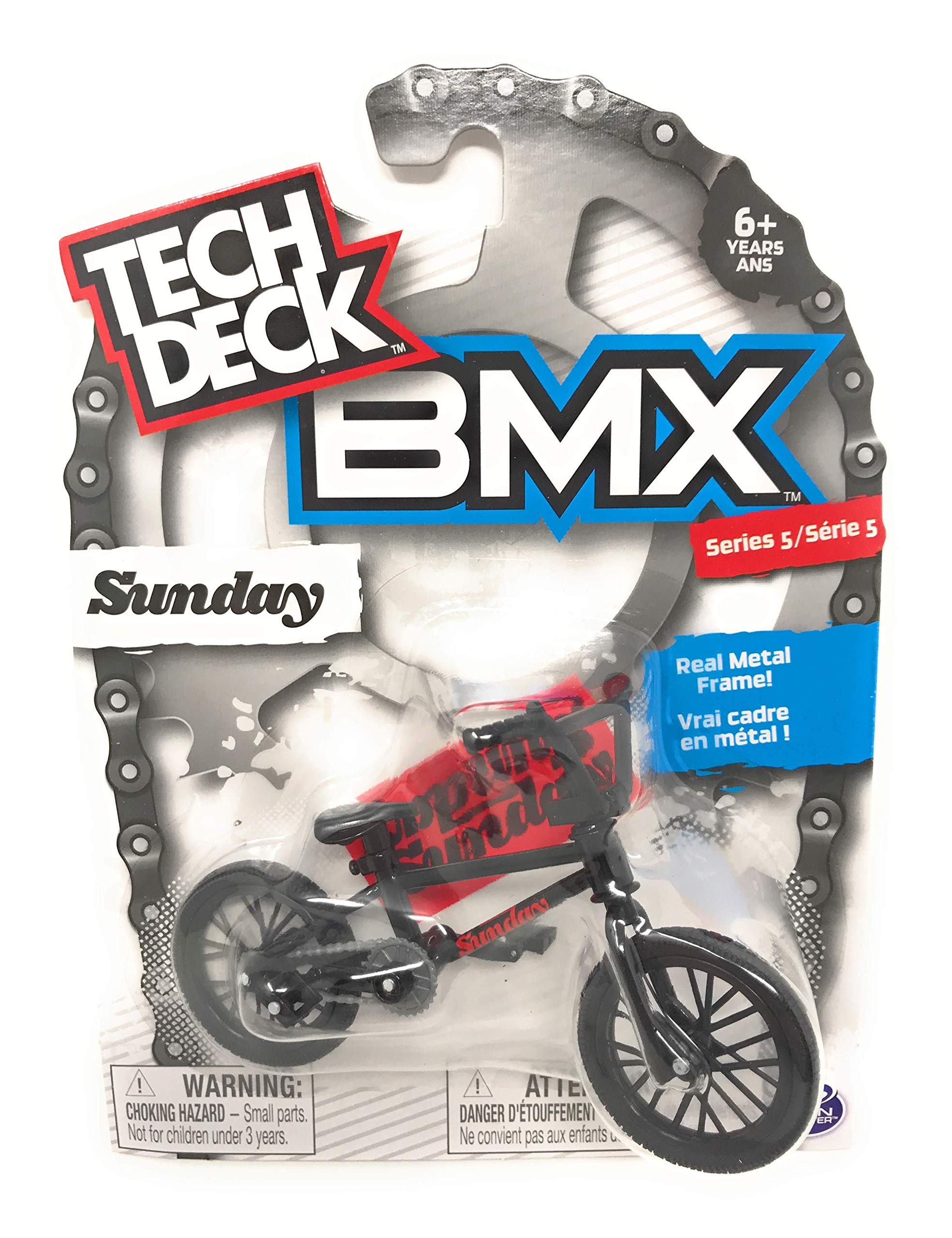 Nozlen Toys Bundle: Tech Deck Series 5 BMX Bikes Set of 4 - WeThePeople and Sunday with Bonus Bag by Nozlen Toys (Image #4)