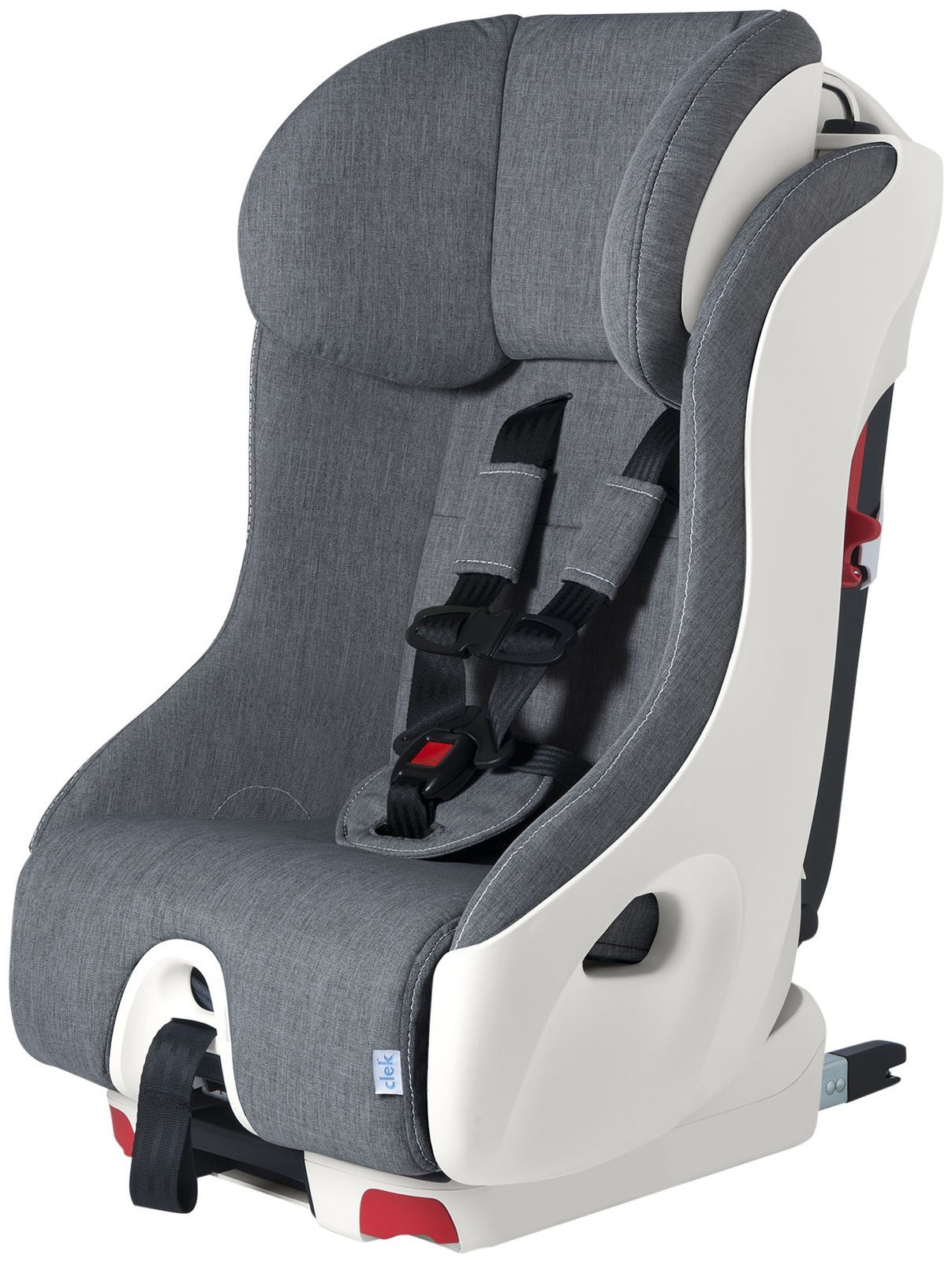 Clek Foonf Rigid Latch Convertible Baby and Toddler Car Seat, Rear and Forward Facing with Anti Rebound Bar,Cloud