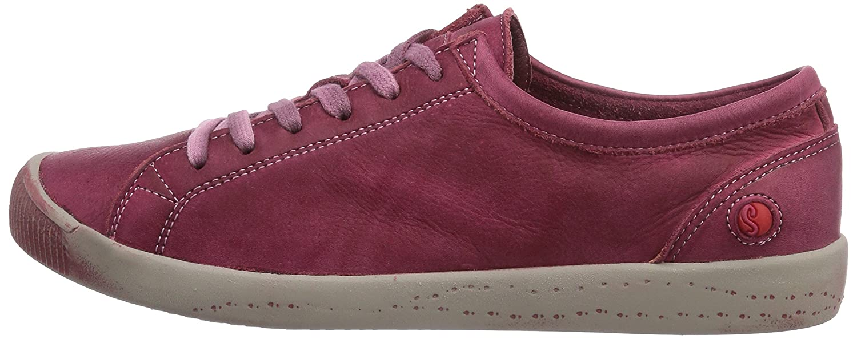 Softinos Women's Isla Sneaker B00NTXRUM6 38 (US Women's 7.5 - 8.0) B(M) US|Cherry
