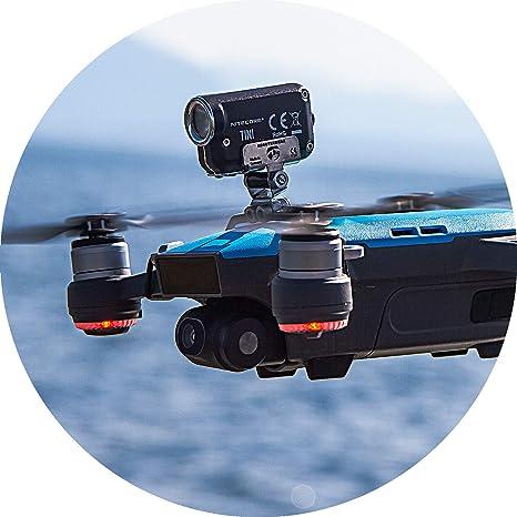 Robot de Drone Top Headlight/Noche Vuelo LED Luz (DJI Spark dron ...