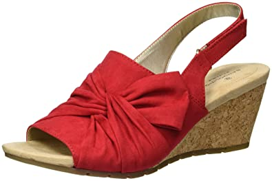 5ac4a95971c BANDOLINO Women's Gayla Wedge Sandal: Buy Online at Low Prices in ...