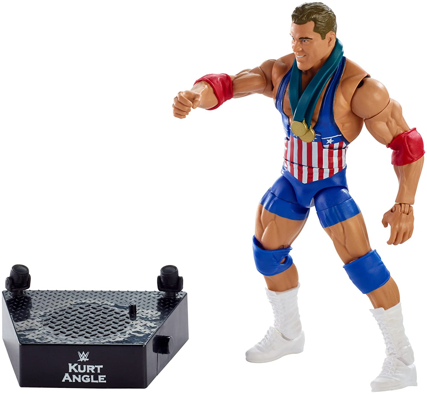WWE Entrance Greats Kurt Angle Action Figure