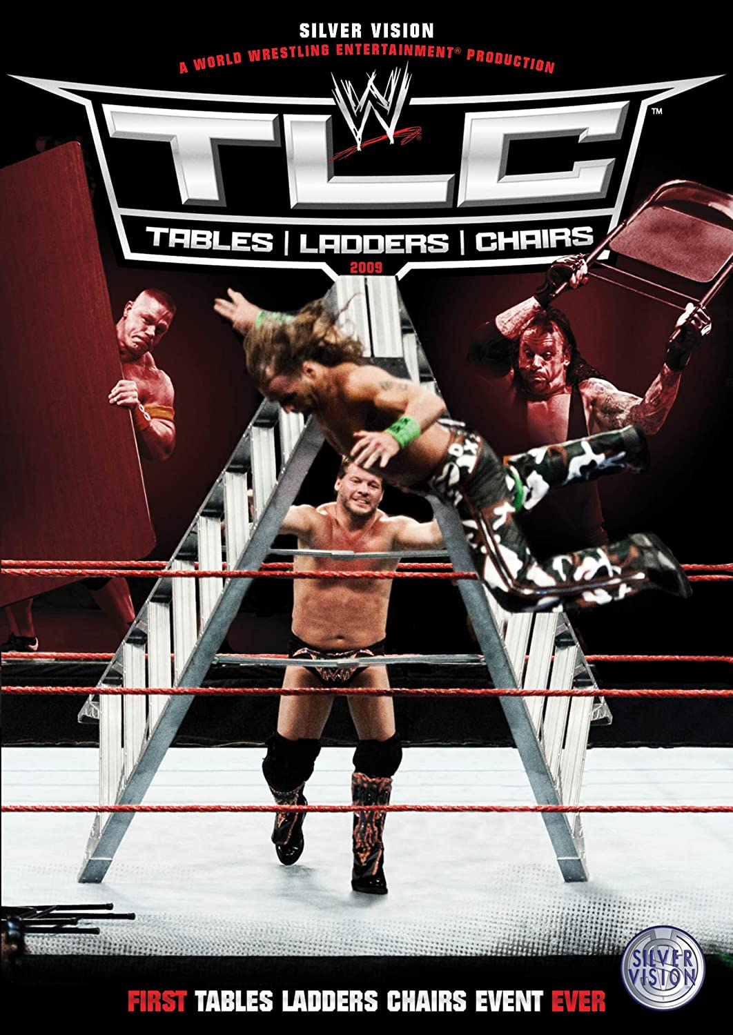 Wwe tables ladders and chairs 2013 poster - Wwe Tlc Tables Ladders Chairs 2009 Dvd Amazon Co Uk Wwe Dvd Blu Ray