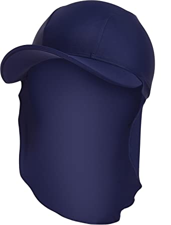 437c8b07e74 Zoggs Boys  Sun Protection Cap-Navy