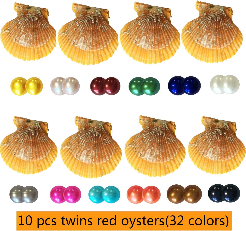 Dainashi - 10 posavasos de perlas rojas para abrir perlas redondas ...