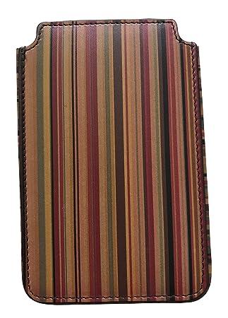Paul Smith Designer Vintage Multi Stripe Smartphone Case