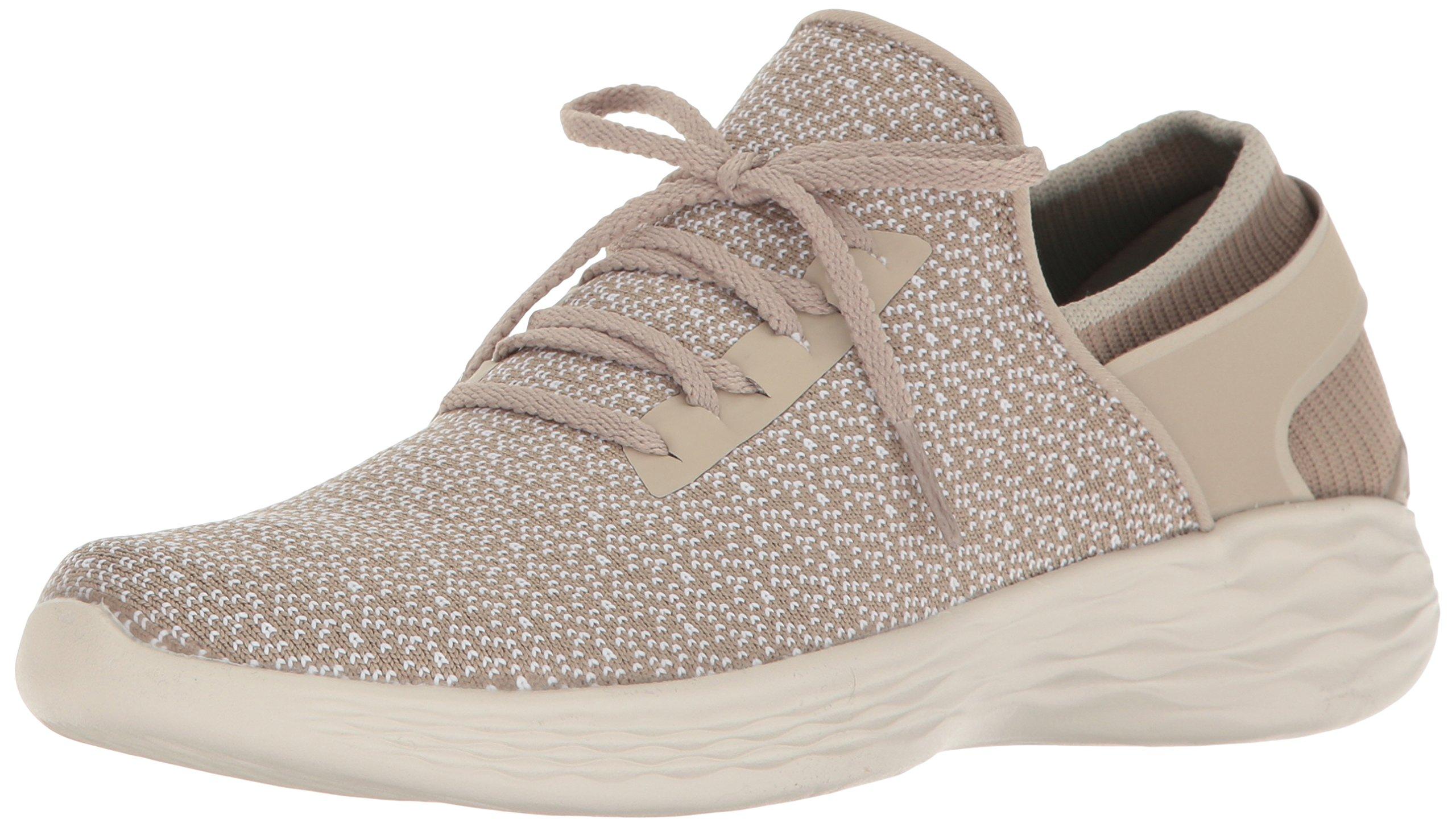 Skechers Women's You Inspire Slip-On Shoe,Natural,9 M US