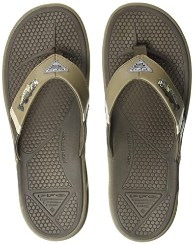 e89a02484d0 Columbia PFG Men s Fish FLIP PFG Fisherman Sandal mud