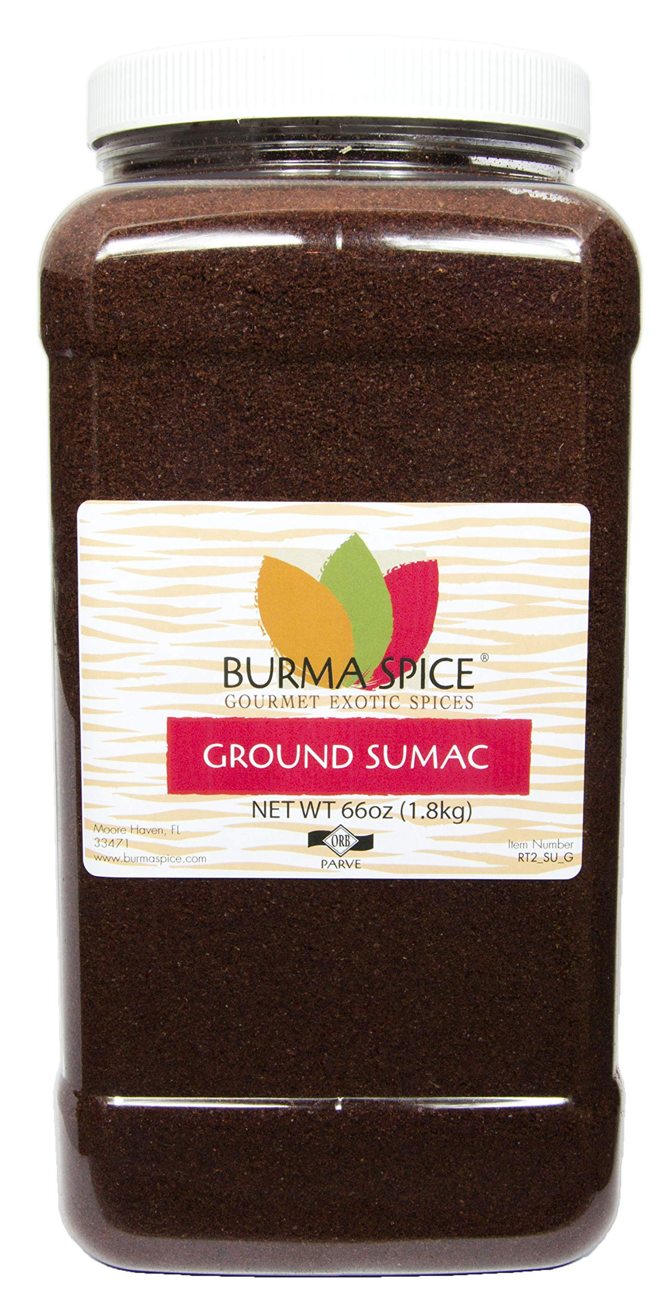 Sumac Spice Seasoning Pure KOSHER (66oz.)