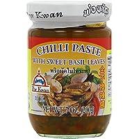 Por Kwan Thai Chili Paste with Sweet Basil Leaves, 227 g