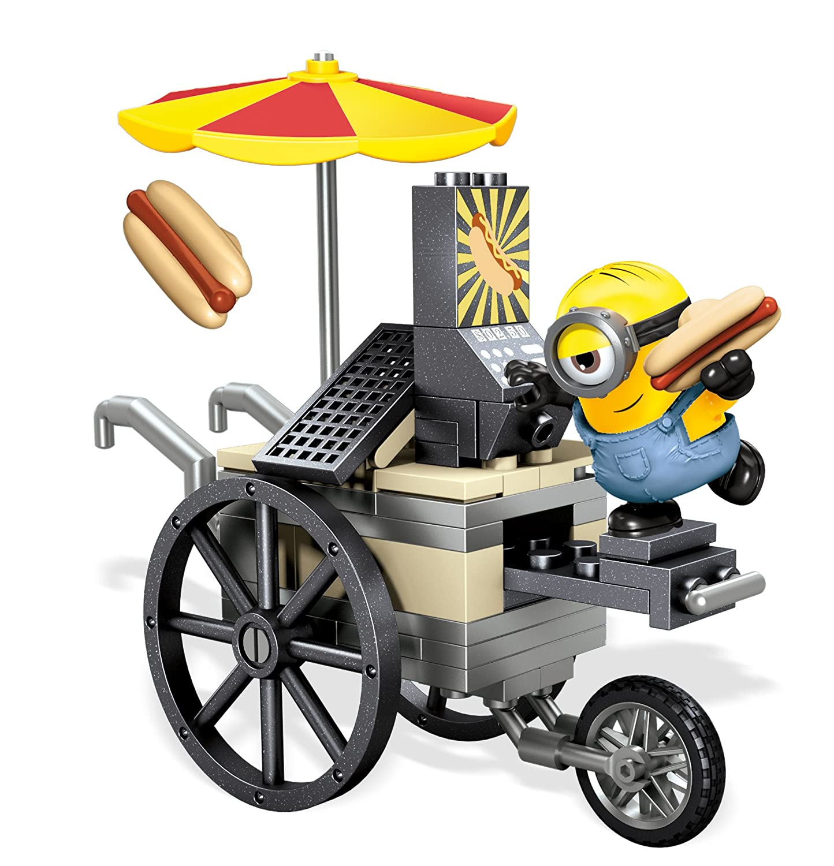 MINIONS - Juego de construcción, Hot Dogs voladores en París (Mattel CNF51): Amazon.es: Juguetes y juegos