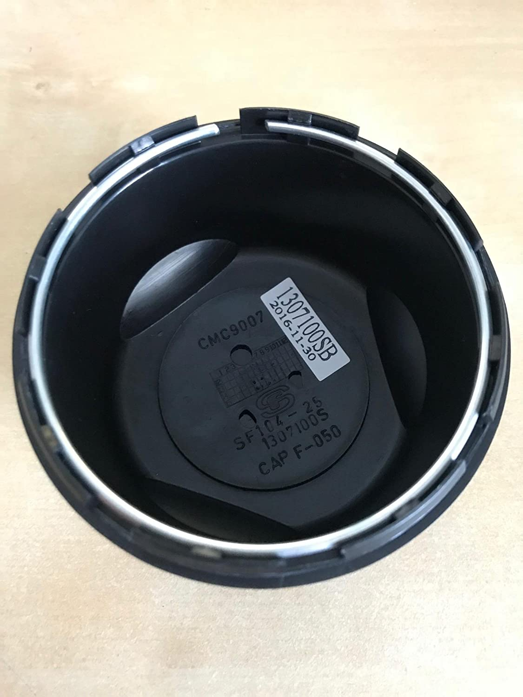 American Racing 1307100SB CMC9007 1307100S SF104-25 Satin Black Center Cap