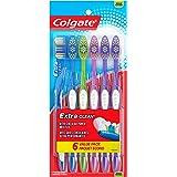 Colgate Extra Clean Full Head Toothbrush, Medium - 6 Count