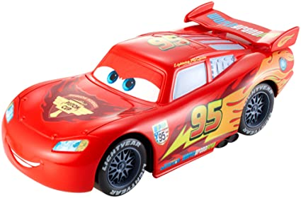 140ef18da3 Image Unavailable. Image not available for. Color: Disney/Pixar Cars  Wheelies Lightning McQueen Pullback Vehicle