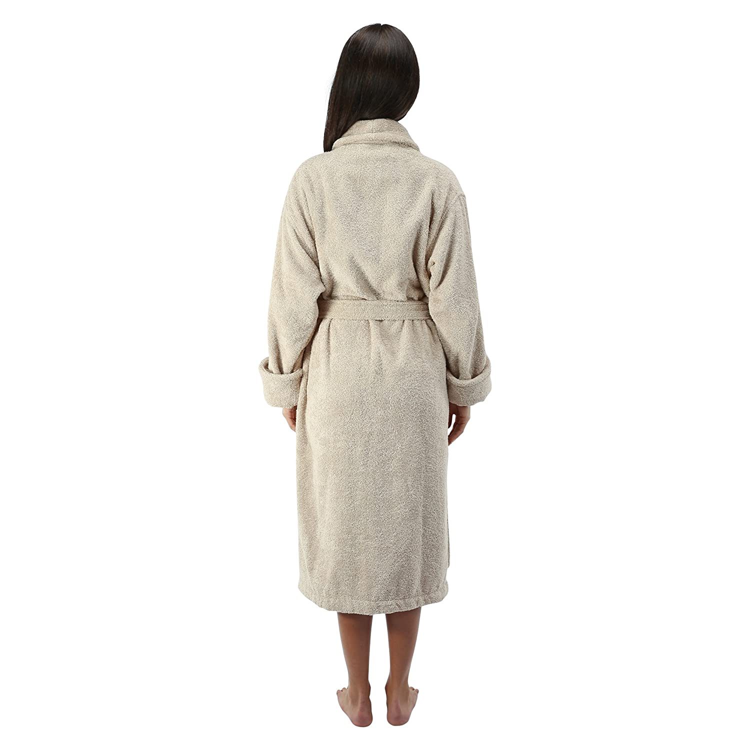 Comfy Robes Women s 16 oz. Turkish Terry Bathrobe at Amazon Women s  Clothing store  23e13f1a1