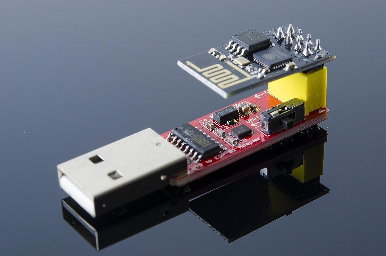 ACROBOTIC ESP8266 ESP-01 Serial to Wi-Fi Module Programmer Arduino NodeMCU Raspberry Pi Wi-Fi Module