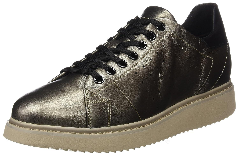 Geox D Thymar a, Zapatillas para Mujer 36 EU|Marrón (Taupe)