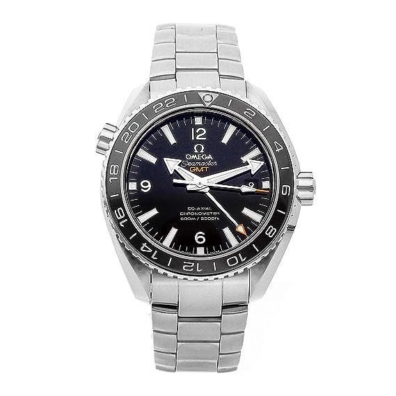 Omega 232.30.44.22.01.001 - Reloj para hombres, correa de acero inoxidable color
