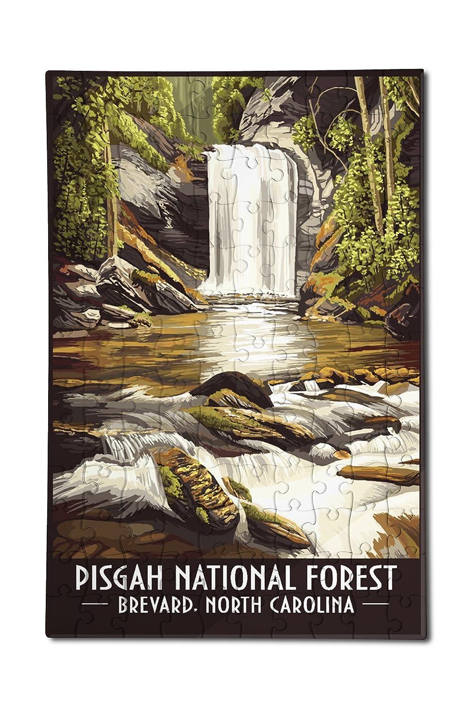 55%以上節約 ピスガーNational Forest, Brevard Forest,、ノースカロライナ州(12 x ピスガーNational 18プレミアムアクリルパズル x、130ピース) B07DD3TR8F, ラウスチョウ:0994893a --- a0267596.xsph.ru