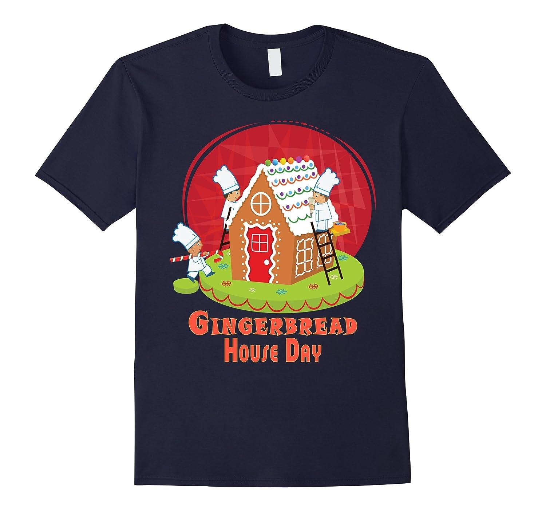 December 12th - Gingerbread House Day t shirt-Art